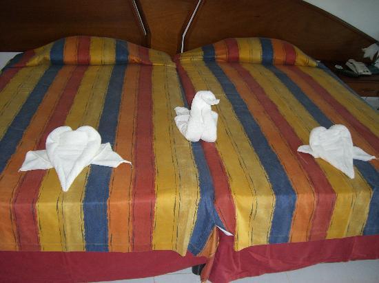 Brisas Covarrubias Hotel: Artwork by our Maid