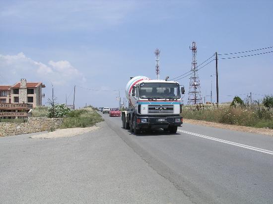 Afitos, Grecia: Parp parp!!