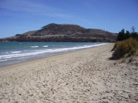 Seven Mile Beach, Australia: Hill end
