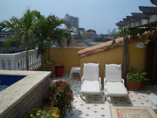 Casa La Fe - a Kali Hotel: Sunbeds