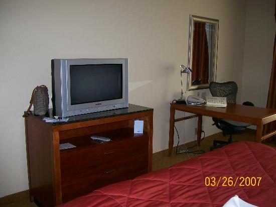 Hilton Garden Inn Atlanta NW / Kennesaw Town Center: TV/Desk