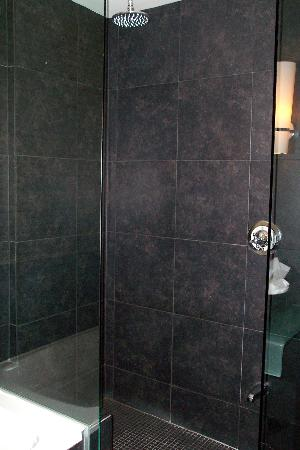 Hotel Le Germain Quebec : Rainfall Shower area.