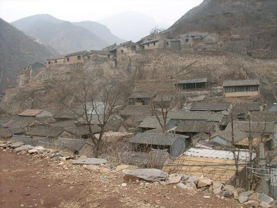 Cuandixia Village: the Whole view