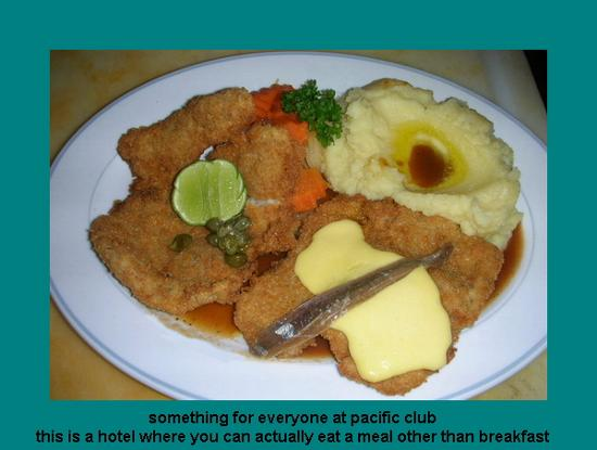 Pacific Club Resort: euro food at pacific club along with everything else they offer