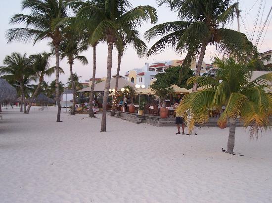 Bucuti & Tara Beach Resort Aruba : bar and restaurant