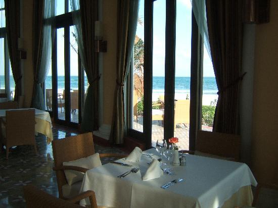Iberostar Grand Hotel Paraiso: our table at buffet restaurant