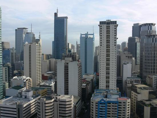 View Of Makati City From Our Hotel Window Picture Of