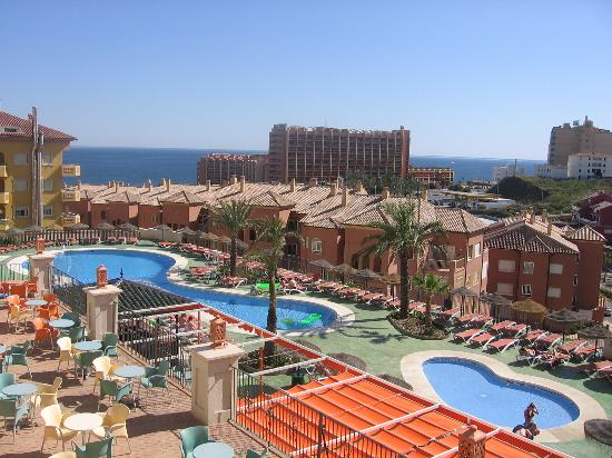 Benalmadena Palace Spa: view of pool from room