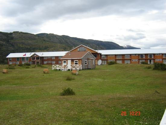 Hotel Lago Tyndall: Vista Hotel Tyndall