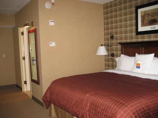 Sheraton Tarrytown Hotel: Cozy bed