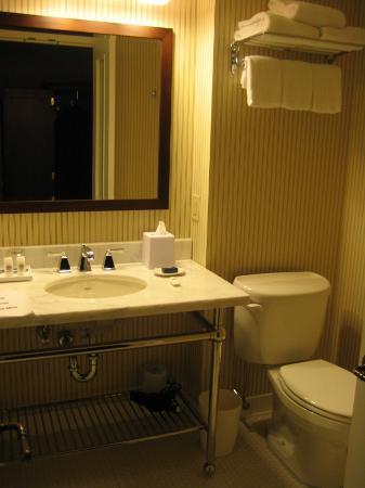 Sheraton Tarrytown Hotel: Bathroom in king room