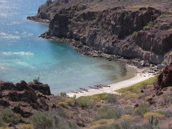 Loreto, Mexico: Playa Honey Moon Isla Danzante