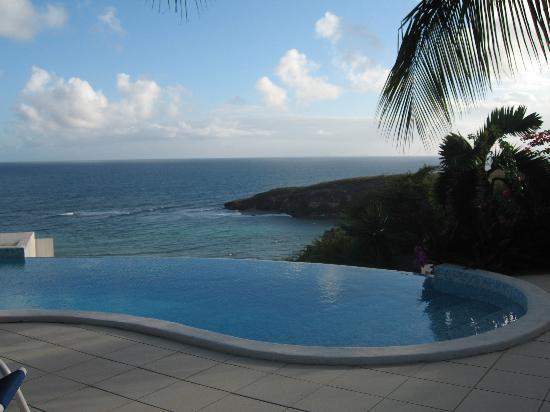 Hotel Amaudo : piscine