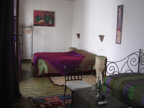 Riad Attarine: La chambre Menthe