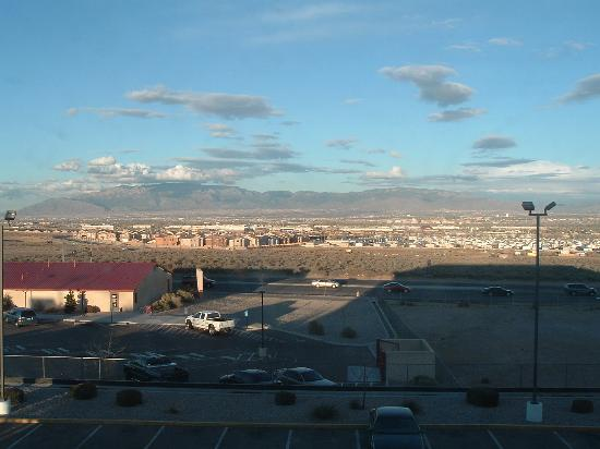 Microtel Inn & Suites by Wyndham Albuquerque West: View from room 316