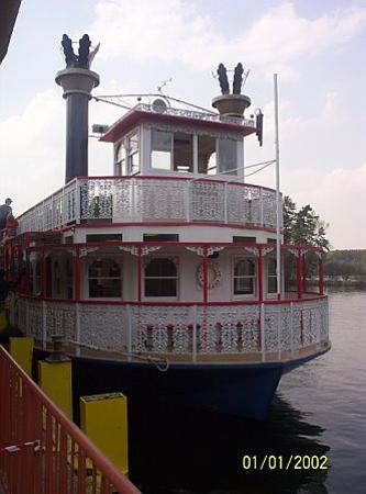 Stone Mountain Park: Stone mountain paddle steamer