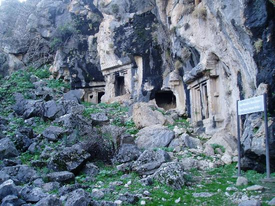 Fethiye, Turkey: More rock tombs