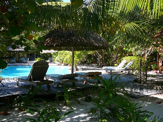 Xanadu Island Resort: the pool area