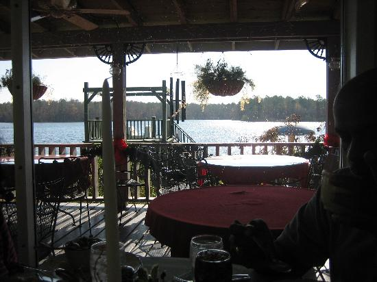 Louisville, MS: View from dining area