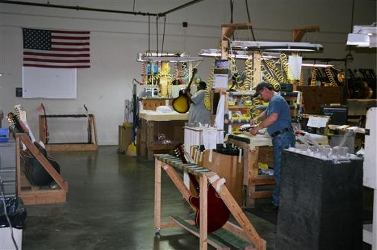 Guitar Factory Tours Usa
