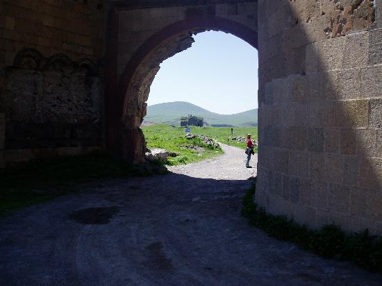 Kars Province, Turkey: The entry to Ani, the Lion Gate
