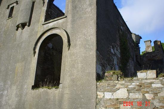 Clifden Castle: WINDOWS TO THE PAST