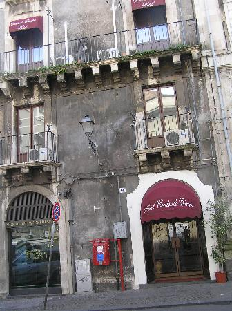 Hotel Centrale Europa : Entrance looks rough but inside its fine