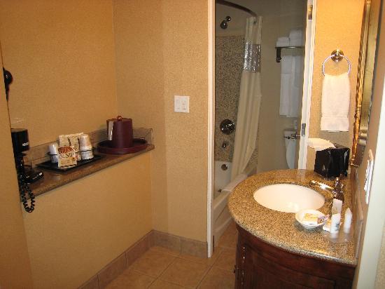 Rodeway Inn Portland Airport: Bathroom Area