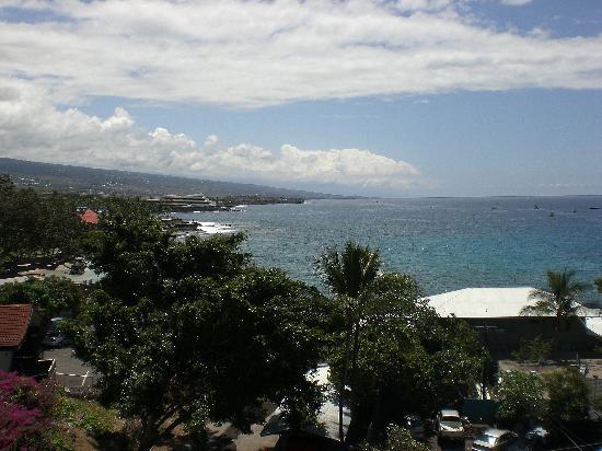 Kona Seaside Hotel: nice view from 'seaside'
