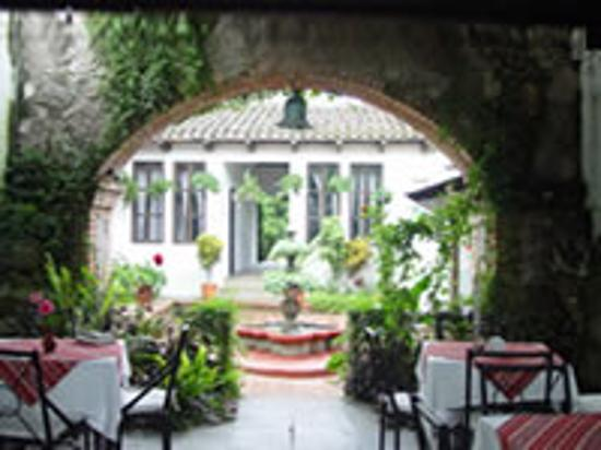 Hotel Casa Mia: The restaurant