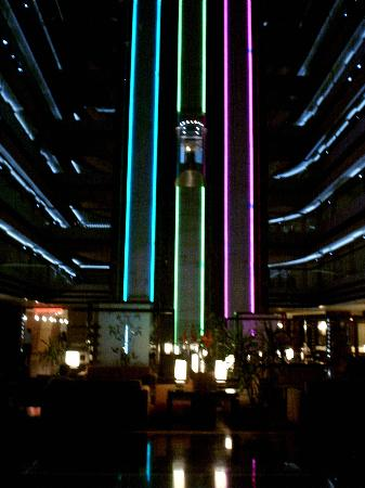 Liberty Hotels Lara: Amazing Light up glass elevator