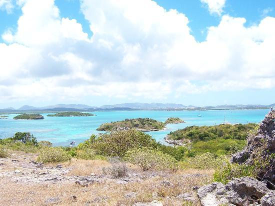 St. John's, Antigua: View from Bird Island