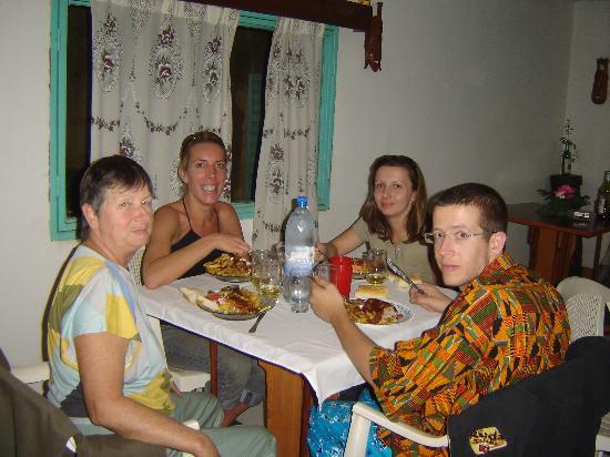 Hotel Nabaloum: notre groupe