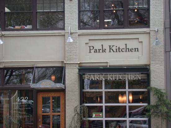 Cherry soup with duck confit - Picture of Park Kitchen, Portland ...