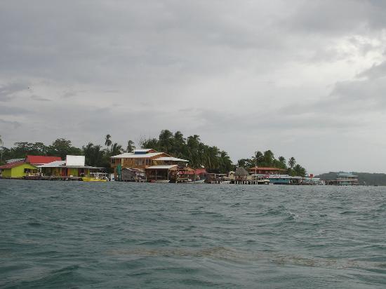 Gran Hotel Bahia: Isla Colón desde el Bote