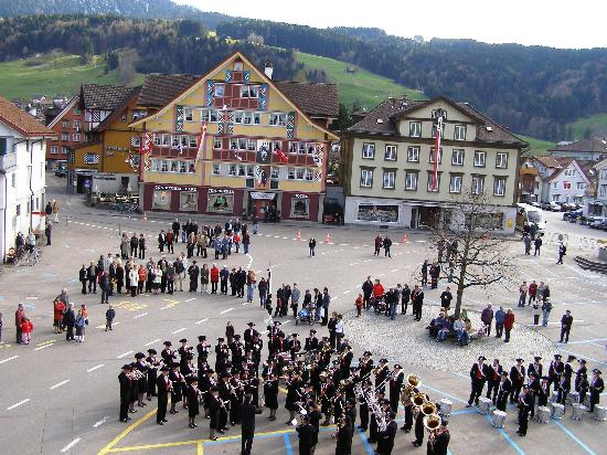 Appenzell, İsviçre: View from Room (1)