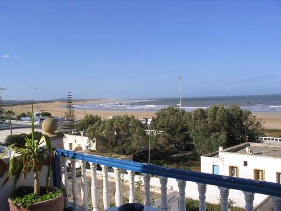 Chateau Plage Essaouira: vue de la terrasse