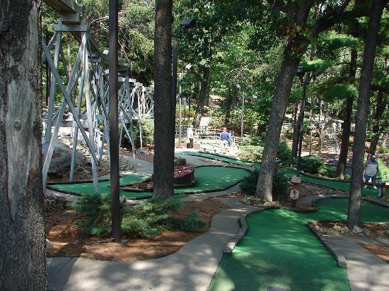 Timber Falls Adventure Golf Foto
