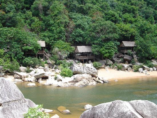 Quy Nhon, Vietnam: View of picnic bungalows