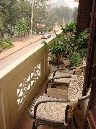 The Apsara: Room 5, Apsara, balcony
