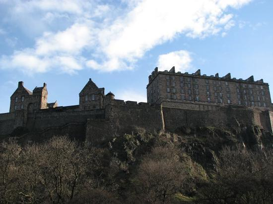 Édimbourg, UK : Edinburgh Castle