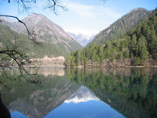 Jiuzhaigou County, China: Mirror Lake