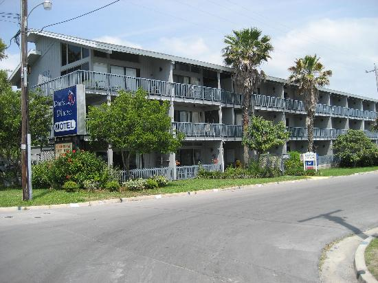 Park Place In Cedar Key Motel From Waterfront Street