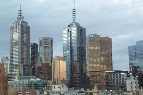 The Langham, Melbourne: the view from our room