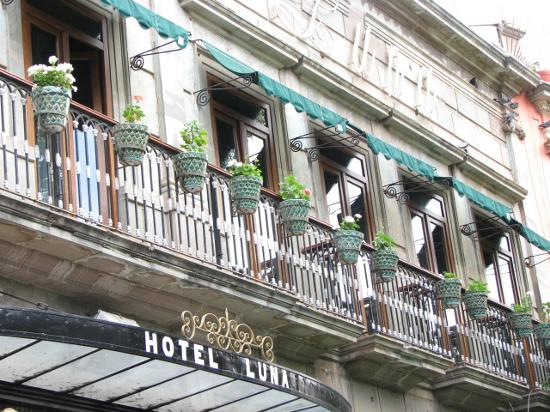 Luna Hotel: Balcones, Hotel Luna