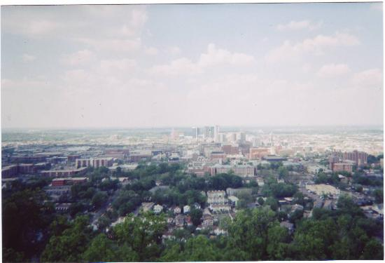 Vulcan Park and Museum : Downtown Birmingham