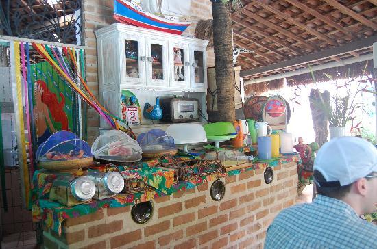 Pousada Porto Verde : the breakfast buffet