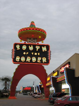South of the Border: Pedro Sign and Mexico Shop West