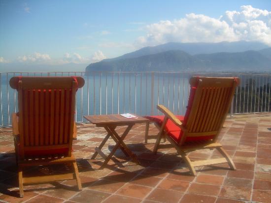 Maison La Minervetta: View From Patio