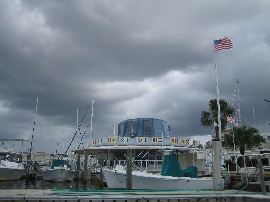 Marco Island, FL: rainy day on marco